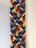 Braided Belt NR.3 - MULTICOLOR BLENDED_