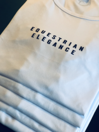 T-Shirt Equestrian Elegance