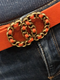 Belt Equestrian Orange