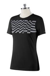 ANIMO Woman's T-Shirt FOBTIC - COLOR BLACK