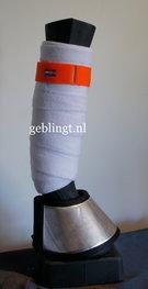 Bandage Bandjes Oranje Bling