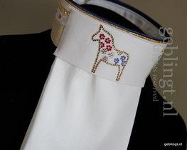 Plastron - Stock Tie - Dalahäst