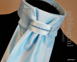Plastron - Stock Tie - Season's Aqua