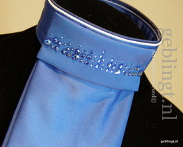 Plastron D-Luxe Season's Royal blue