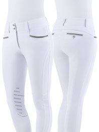 Animo woman's breeches NESCI (White Full Grip)