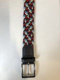 Braided Belt NR.11 - RED BLENDED