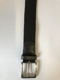 Braided Belt NR.6 BLACK