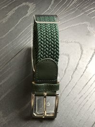 Braided Belt NR.16 FOREST GREEN
