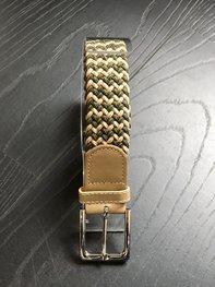 Braided Belt NR.19 OLIVE BLENDED