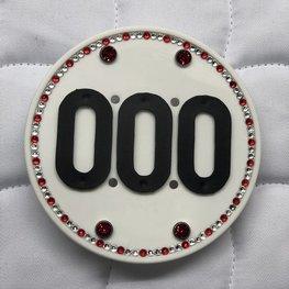 Swarovski Competition Number - Red-Crystal