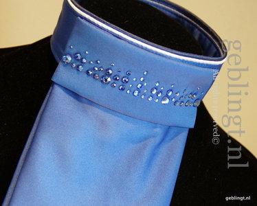 Plastron - Stock Tie - Season's Royal blue