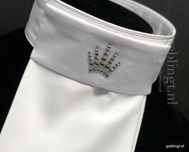 Plastron-Stock-Tie  Crown