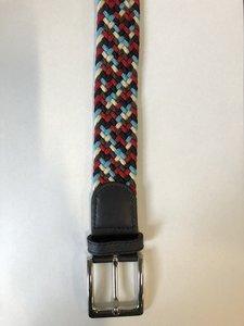 Braided Belt NR.11 - RED BLENDED